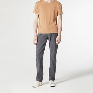"""AG """"the Graduate"""" Tailored Leg Jean in Charcoal"""